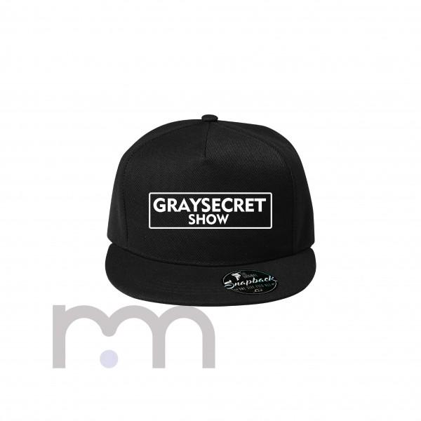 Graysecret Show Snapback Black
