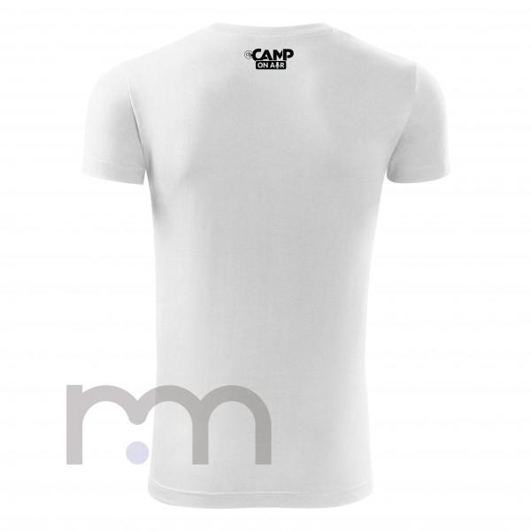 White basic T-Shirt DJ Camp