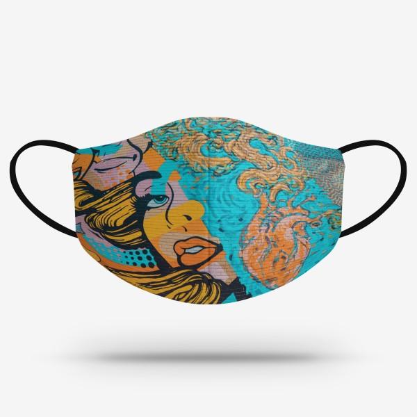 Merch mask - Pop-art