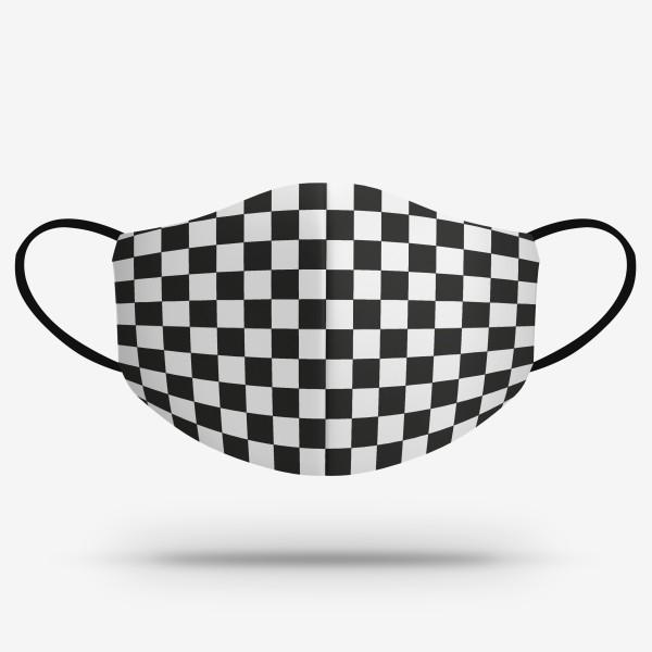 Merch mask - Šachovnica