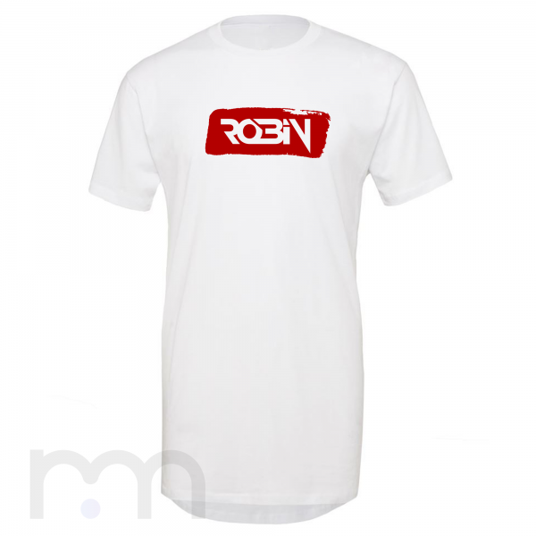 Dj Robin tričko Long White