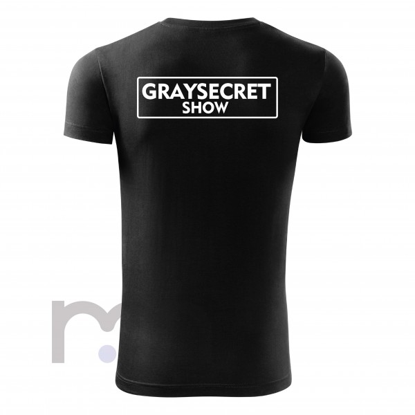 Graysecret Show Tričko Black
