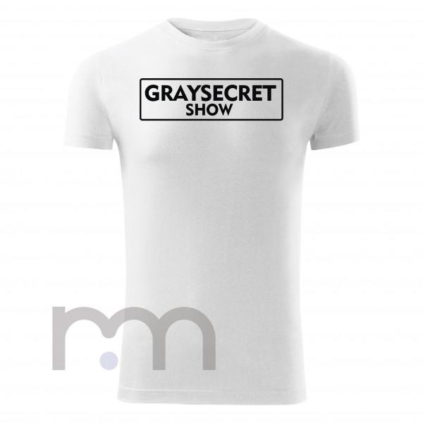 Graysecret Show Tričko White